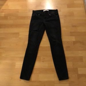 Great black fashion jeans